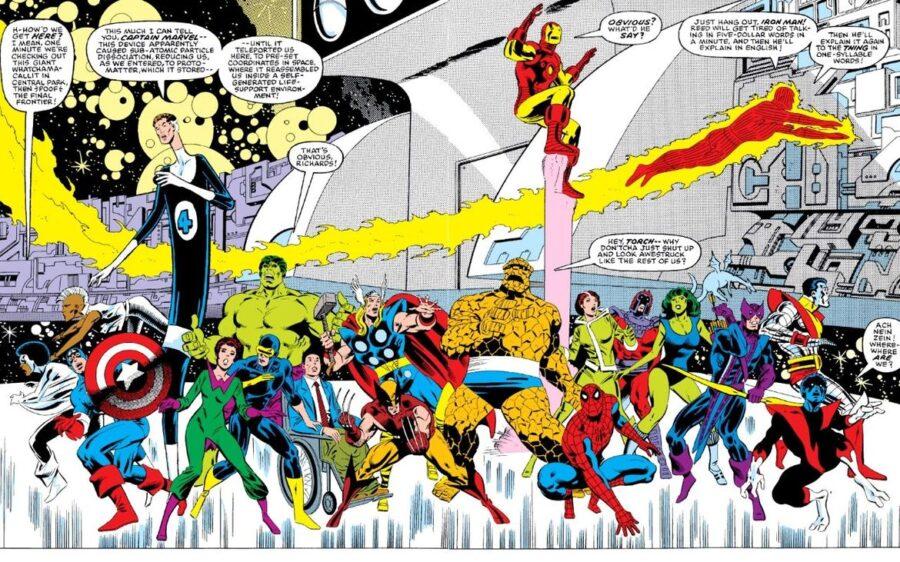 secret wars marvel comics