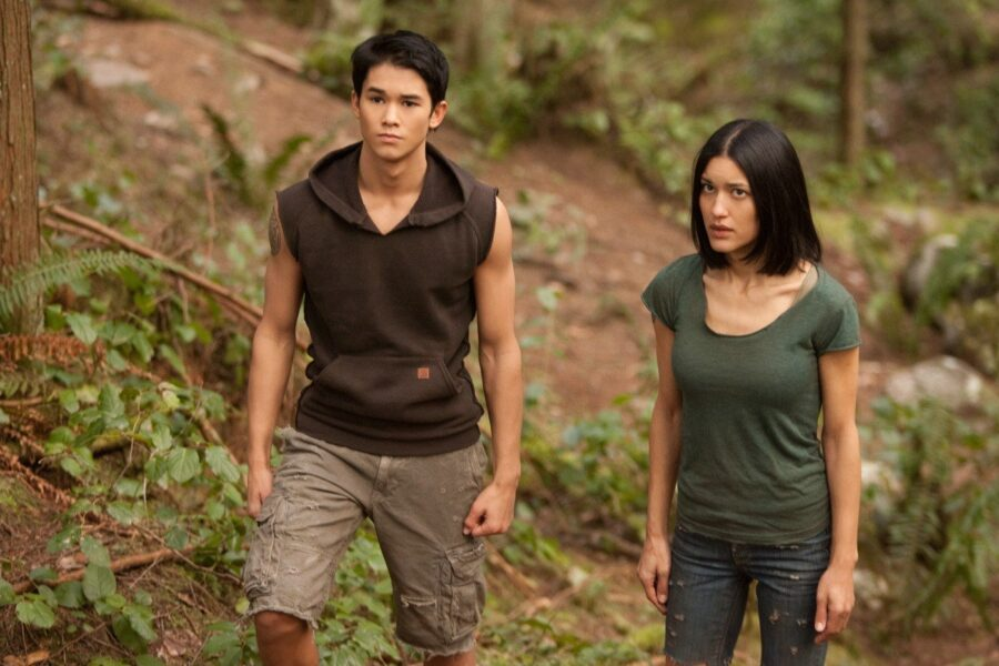 seth and leah clearwater in twilight