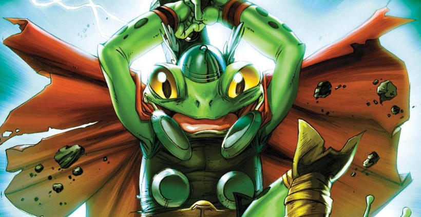 Throg Marvel Comics
