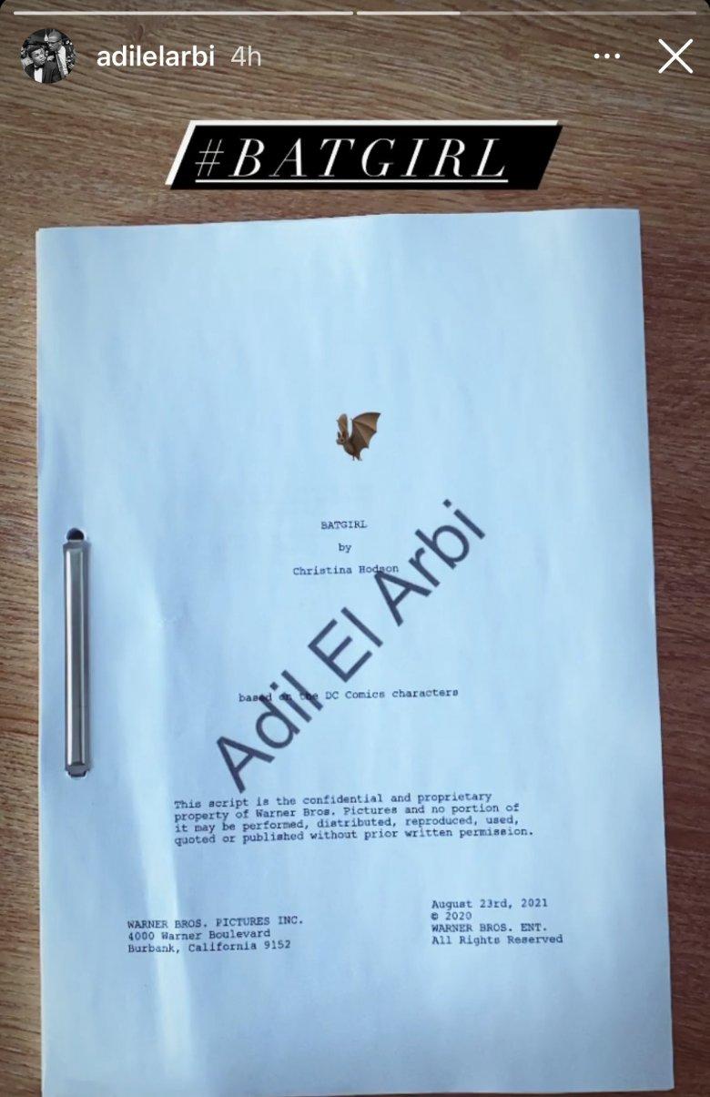 batgirl movie script