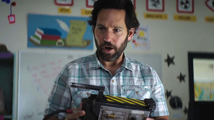 paul rudd ghostbusters afterlife
