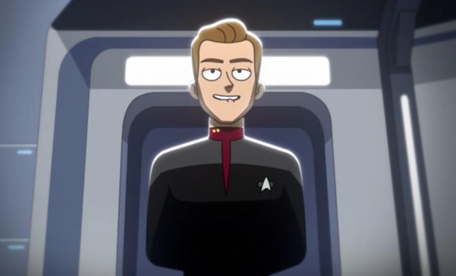 Tom Paris on Star Trek: Lower Decks
