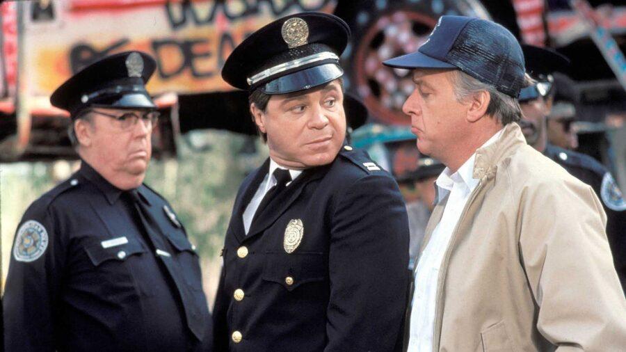 police academy art metrano