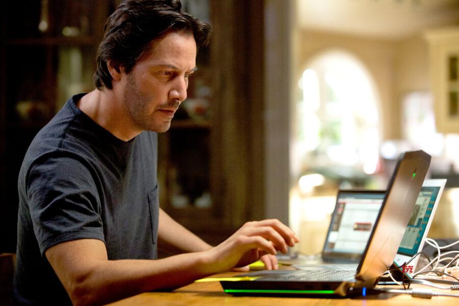 Keanu Reeves replicas computer