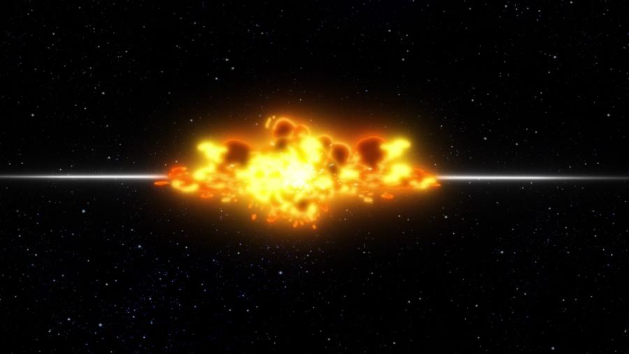 Star Trek explosion