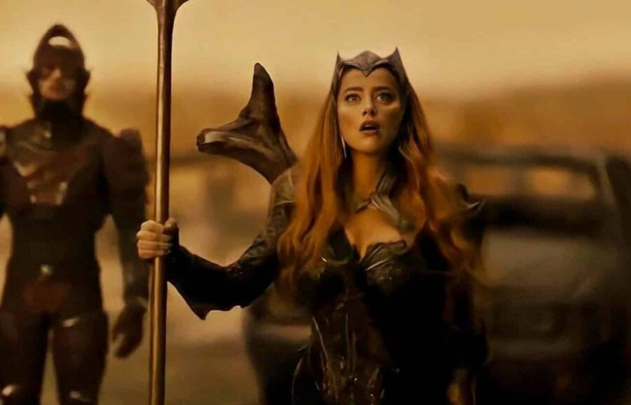 amber heard, zack snyder's justice league