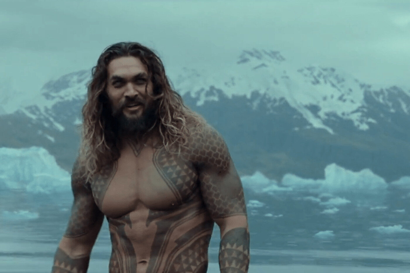 Jason Momoa in Aquaman 2