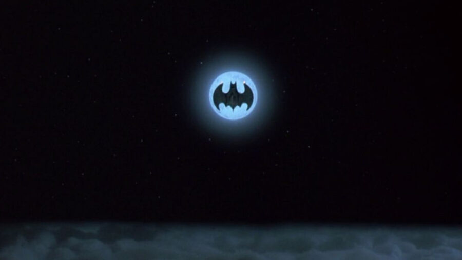 batman michael keaton batwing moon