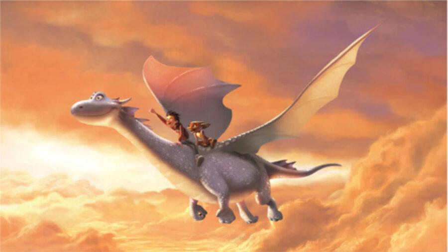 dragon rider netflix