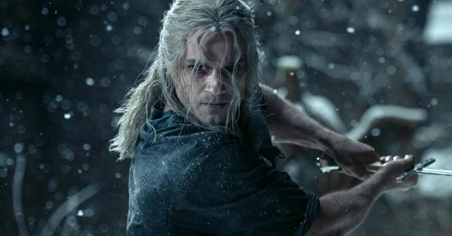 Henry Cavill in The Witcher season 2 trailer