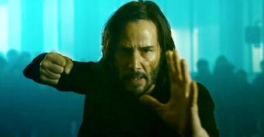 keanu reeves the matrix resurrections