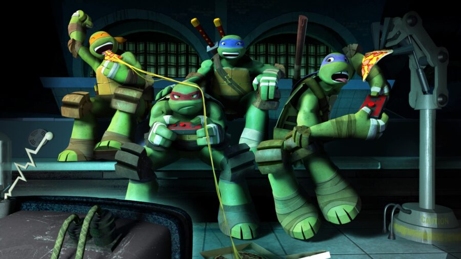 nickelodeon all star brawl, teenage mutant ninja turtles