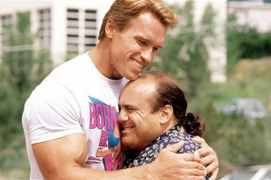 Arnold Schwarzenegger danny devito
