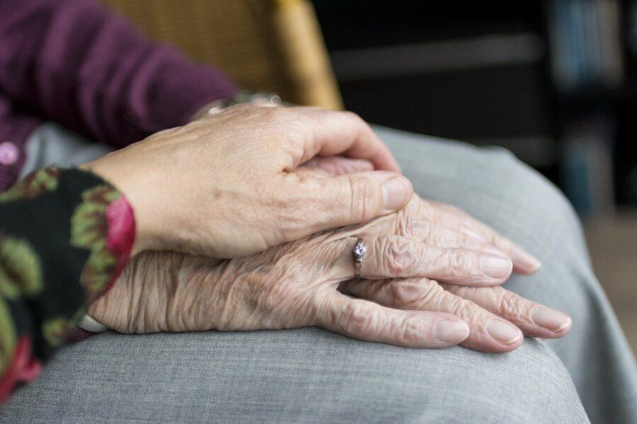 humans, elderly, old age