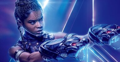 Letitia Wright black panther]