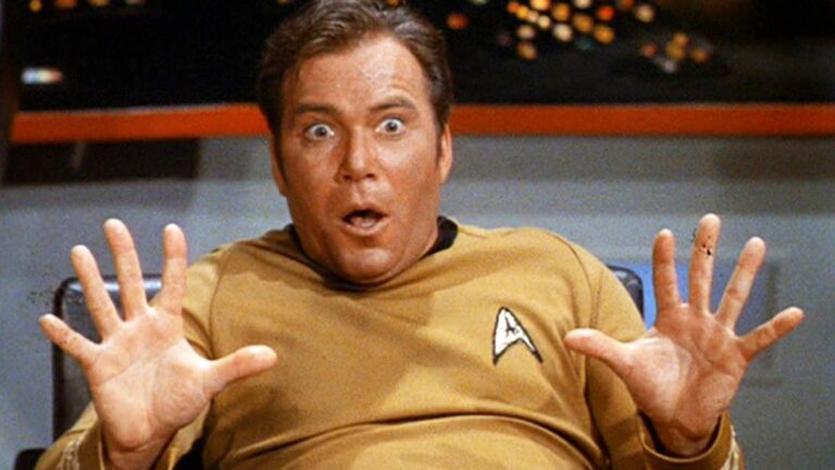 William Shatner Reacts To This Wild Connection Between Star Trek and ...